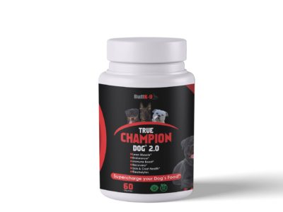 buffk9 true champion dog supplement stress endurance minerals vitamins
